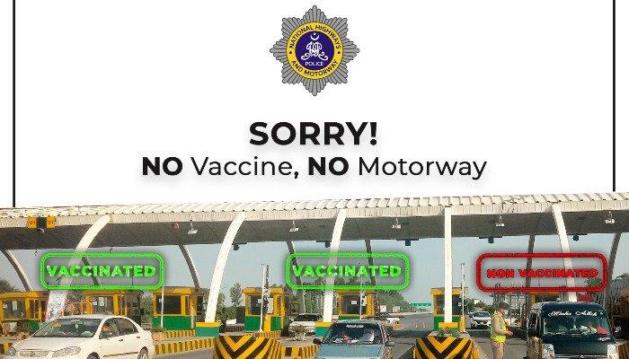 no-vaccine-no-motorway-announces-motorway-police