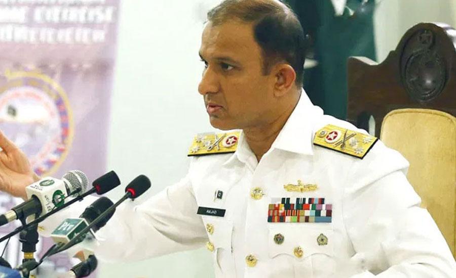 naval-chief-visits-headquarters-of-pmsa-in-karachi